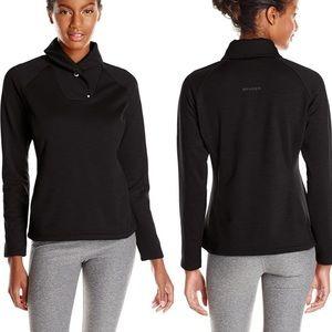 Spyder Black Mantra Pullover Jacket Shawl Collar M